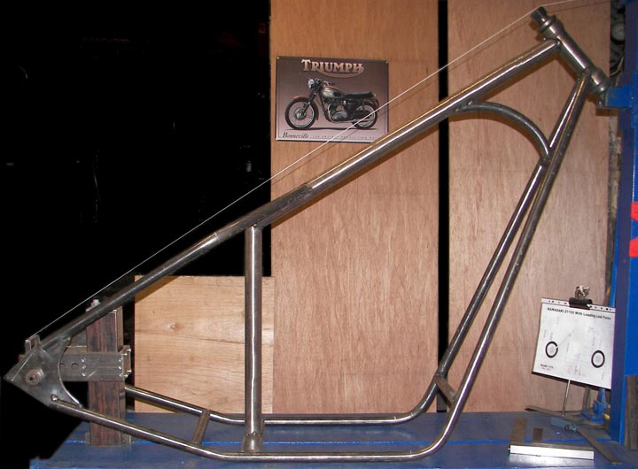 Suzuki GS Custom Chopper Hard Tail Frame