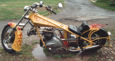 Custom Bikes Choppers Scotland
