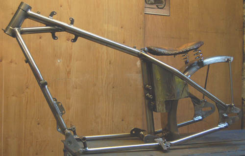 Yamaha FJ12 FJ1200 Hard Tail Chopper Frame